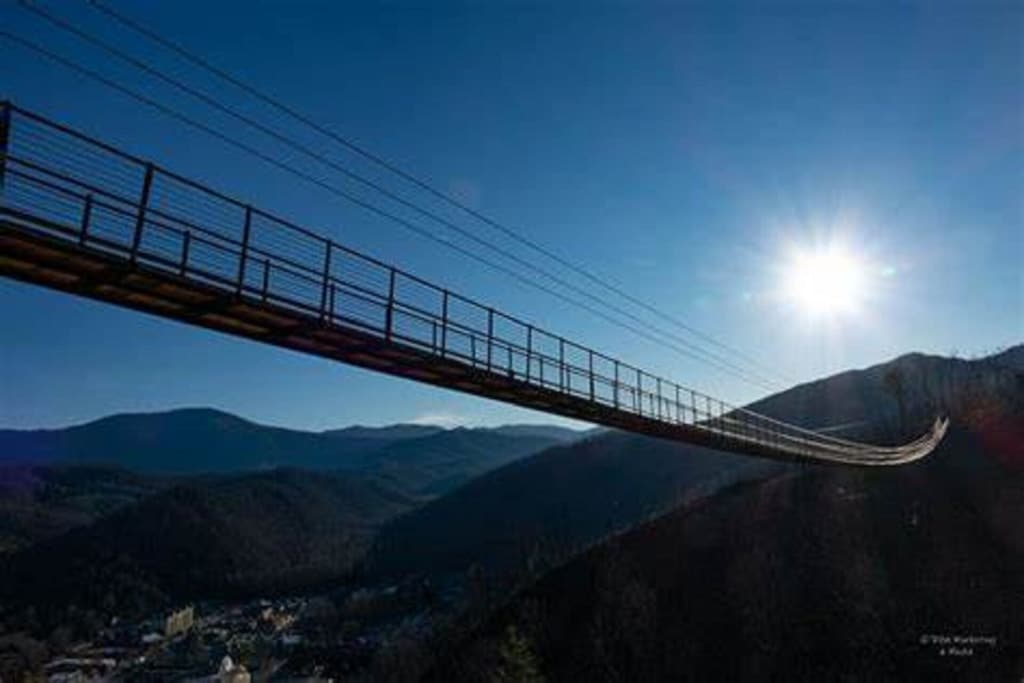 A must do in Gatlinburg New Skywalk.