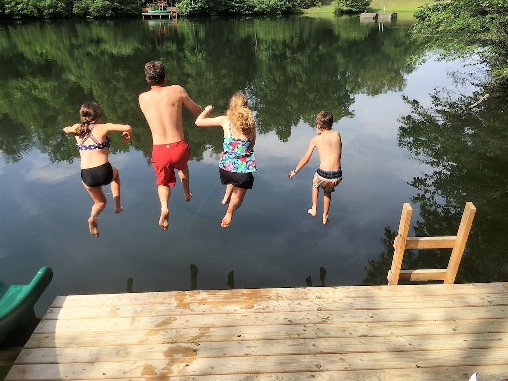 Kids will love playing in the water all day.