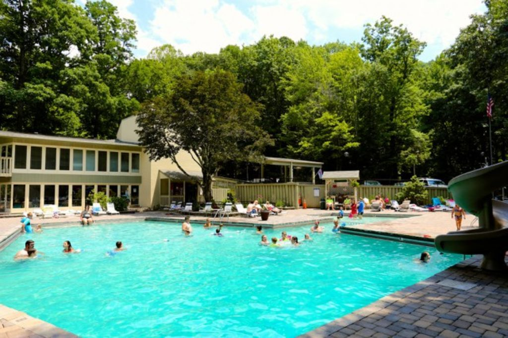 Access to three clubhouses with tennis courts and outdoor pools in the summer.
