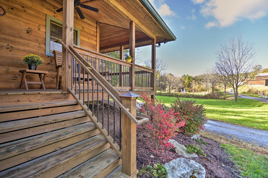 Inquire about other cabins available for rent at Laurel Mountain Retreat.