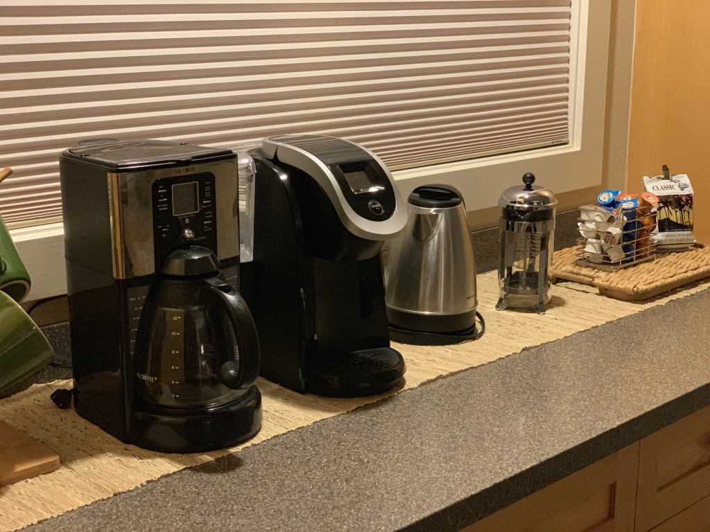 Our Premium Coffee & Tea Bar has everything you need to start your morning right.