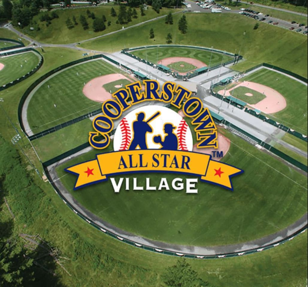 3.3 miles to Cooperstown All-Star Village
