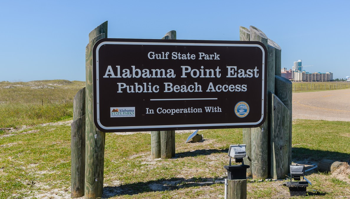 Alabama Point East Public Beach Access