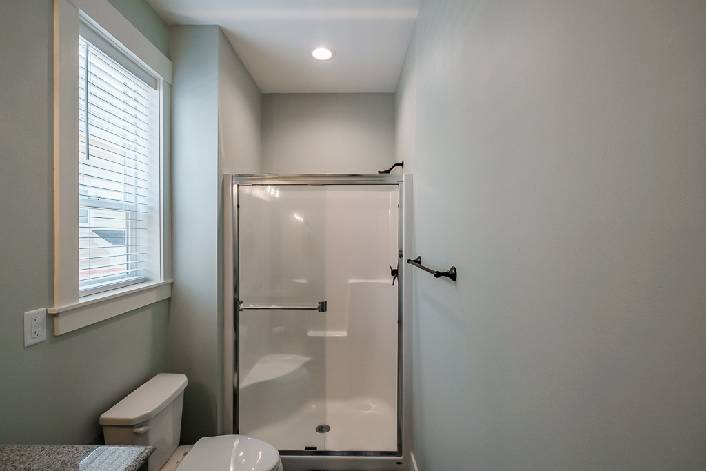 Enjoy private, ensuite shower.