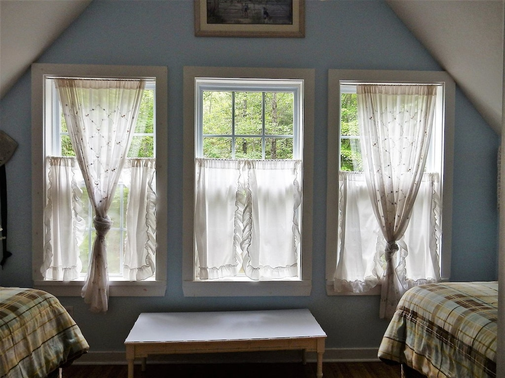 Three beautiful windows