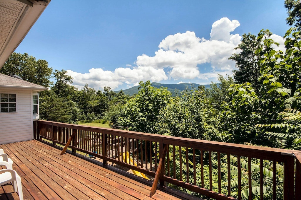 Spectacular views off back decks and yard
