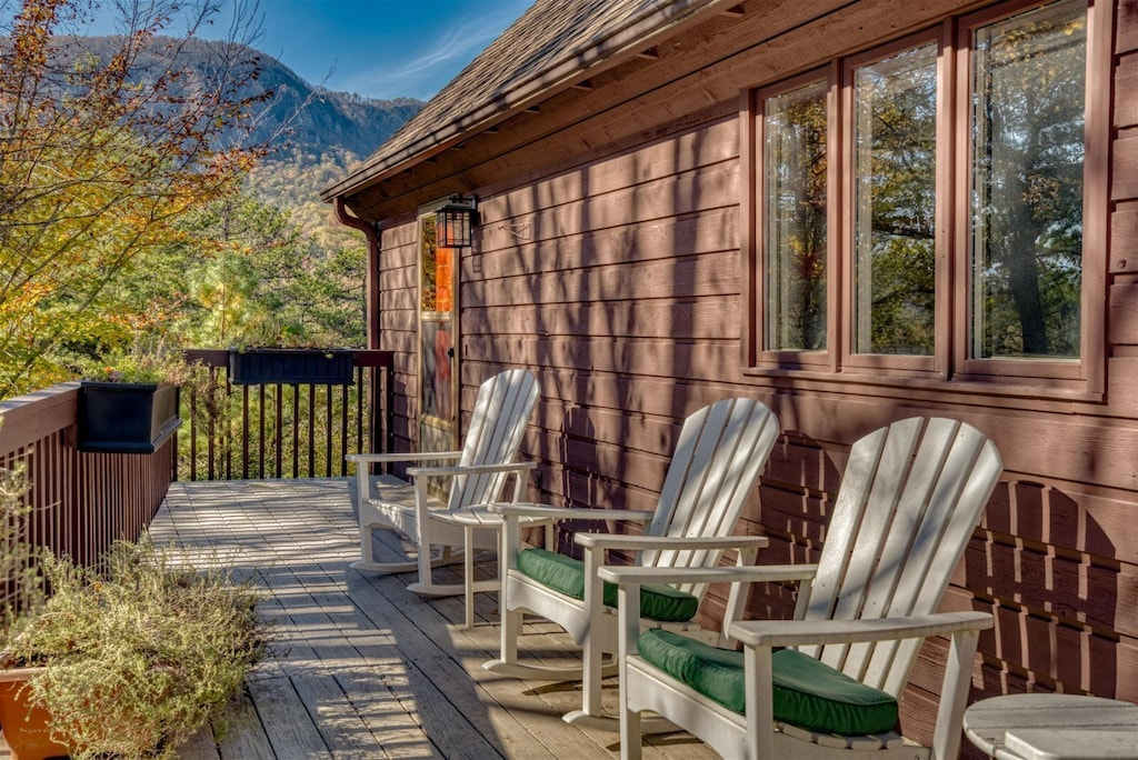 Relax with these amazing porch views