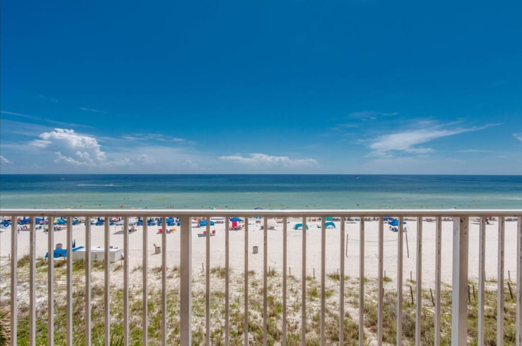 Front and Center View from Sunset Beach's Balcony!