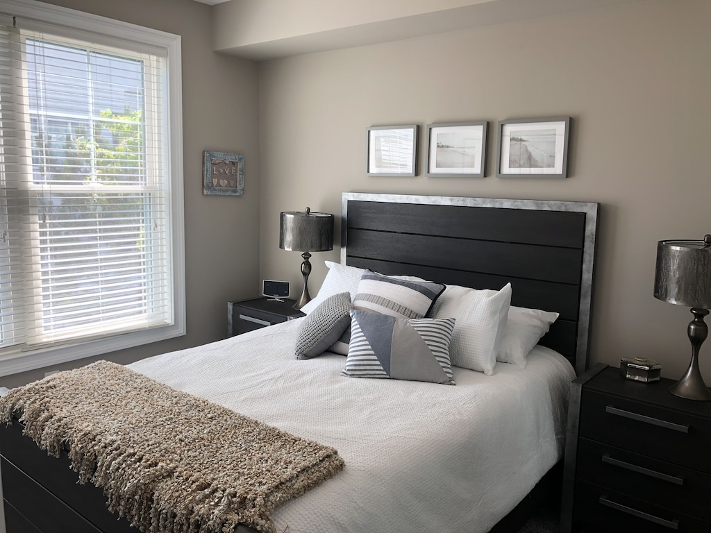 2nd level queen room features oversized closet with dresser