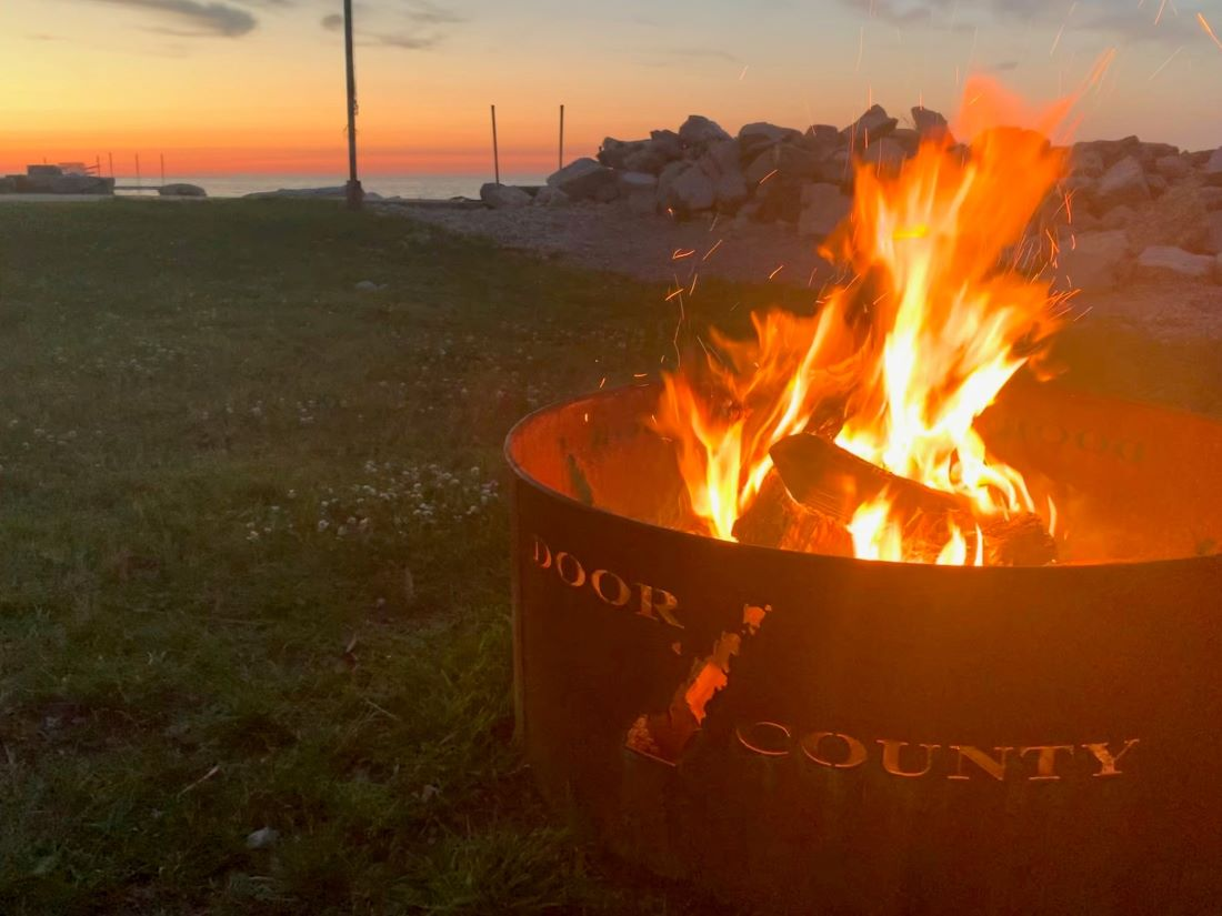 Enjoy bonfires near the water, watch the sunset, and listen to the waves.