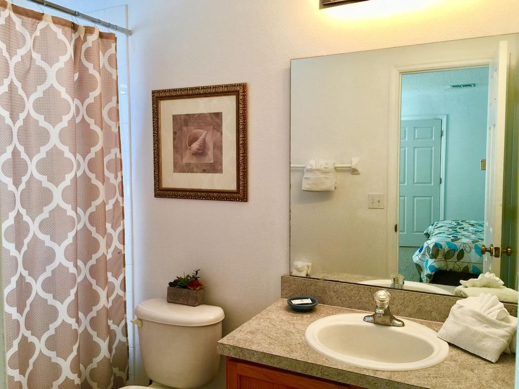 Bathrooms upstair