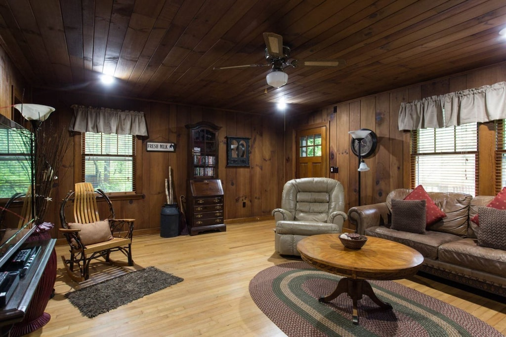 Step inside and you will find a quaint cottage with comfortable leather furniture as well as antique and unique pieces.