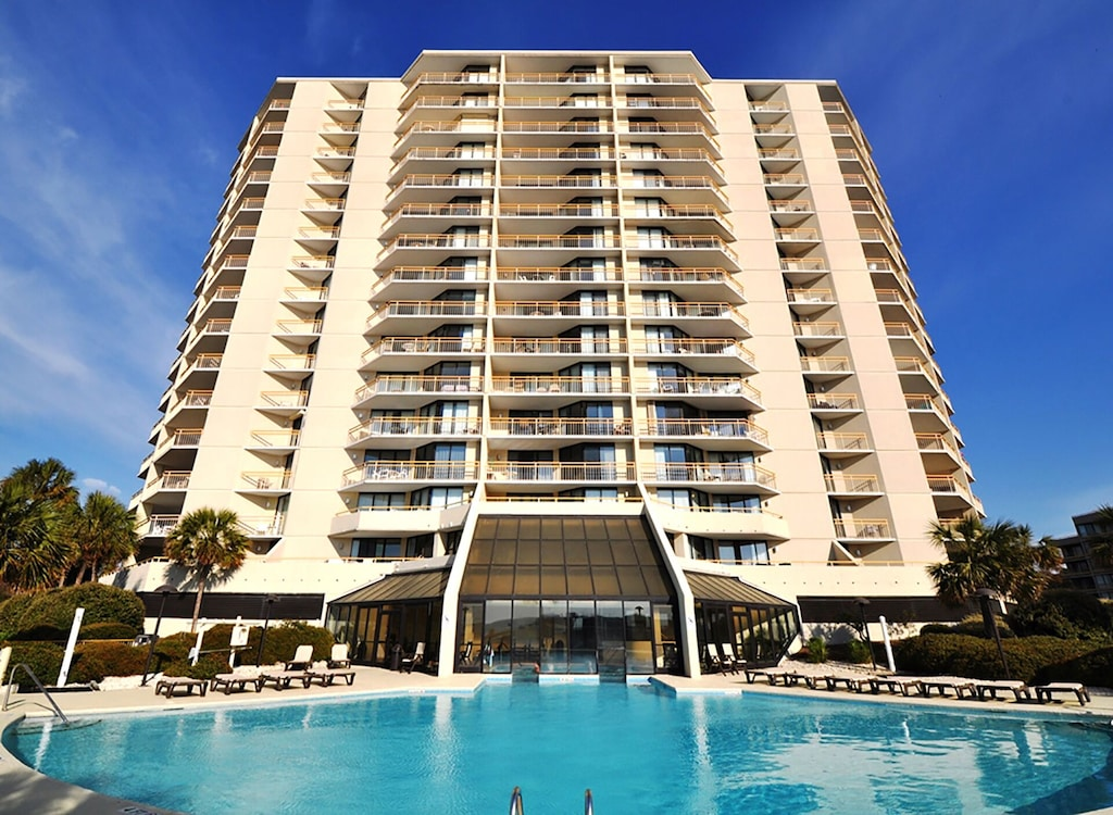 Tower South Direct Ocean View w/ Large Outdoor Pool & Indoor Hot Tub/Small Pool.