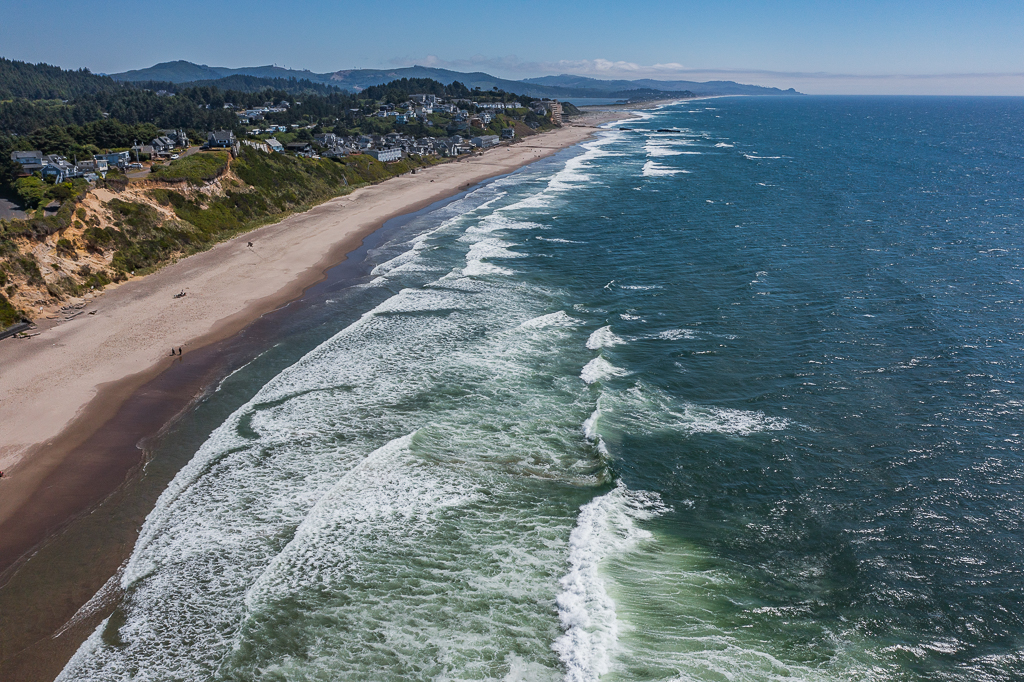 7 Miles of Lincoln City Beaches.