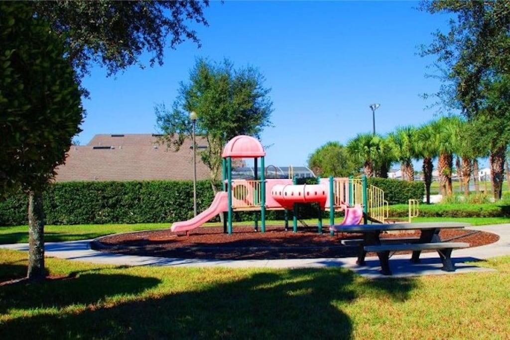 playground in the resort