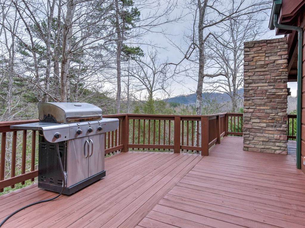 Perfect spot to grill outside.