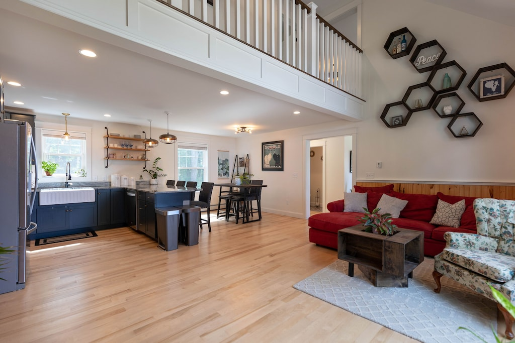 Large open concept living space