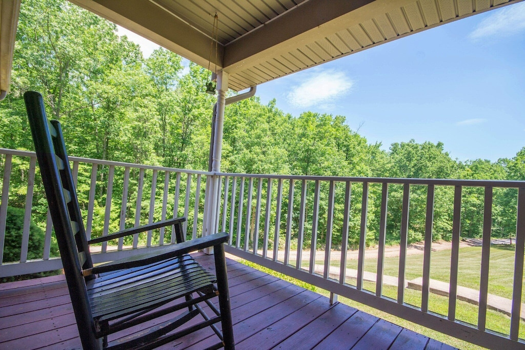 Come, sit and enjoy your morning coffee on the front porch