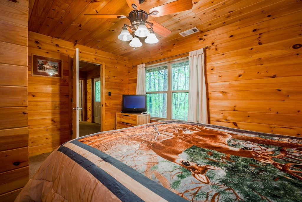 Downstairs Queen Guest Bedroom