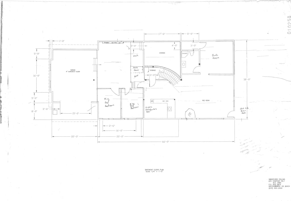 Lower Level Floor Plan - Lower Walk-out  Level Floor Plan
