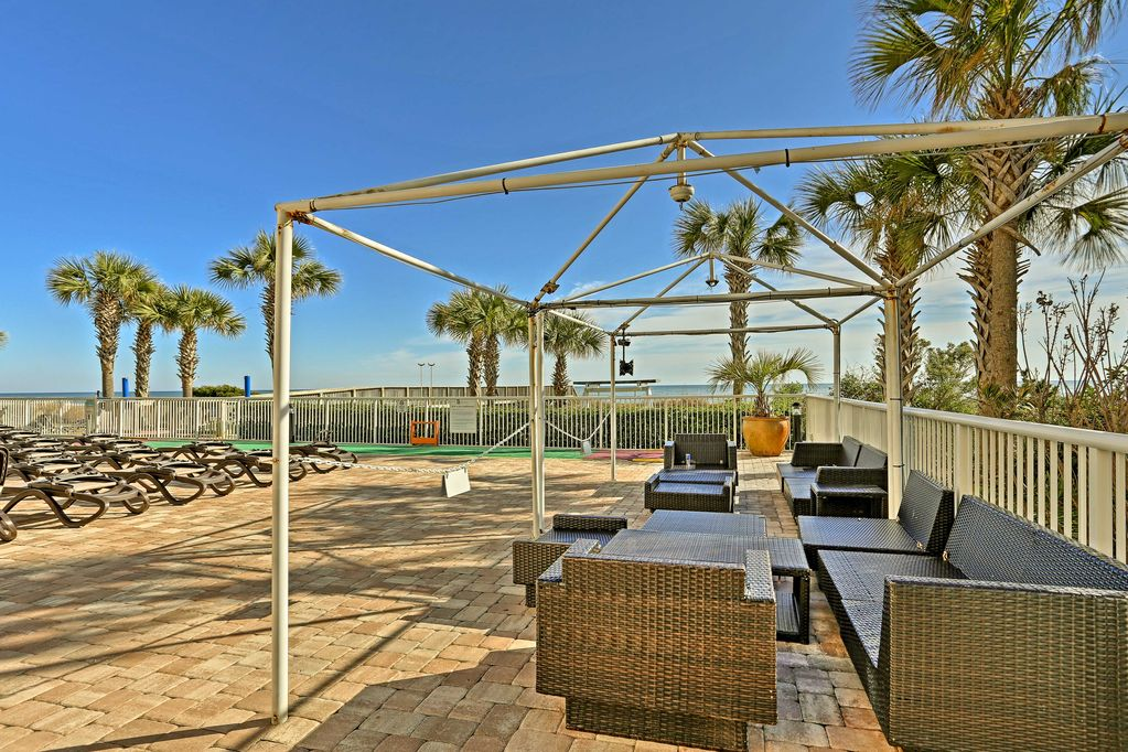 Relax in the Cabana Area