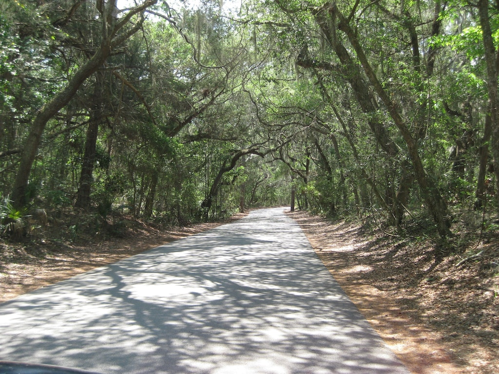 Entrance to Ft. Clinch State Park