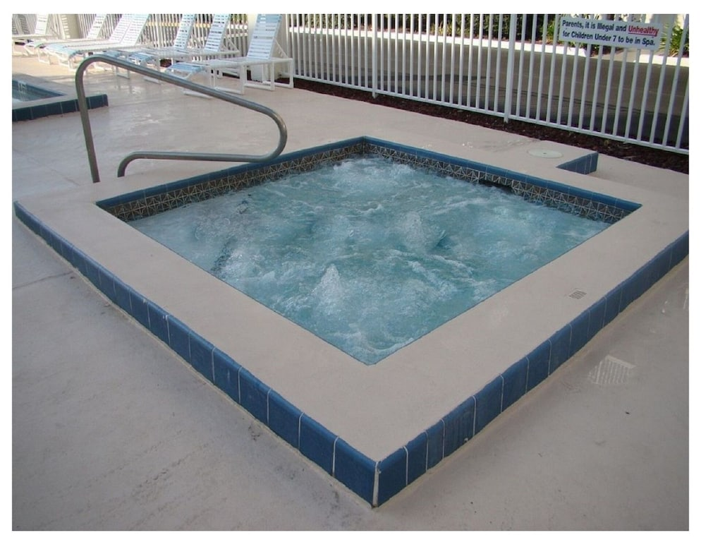Enjoy a Relaxing Soak in our Bubbly Hot Tub!
