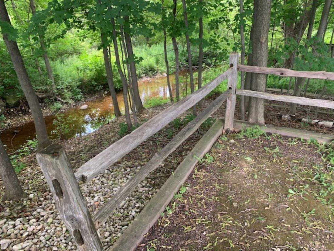 Fish Creek Park next door. Quieter park with nice walking trails.