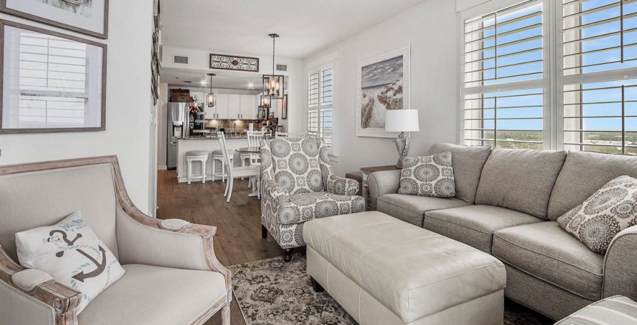 Elegant & comfortable furnishings