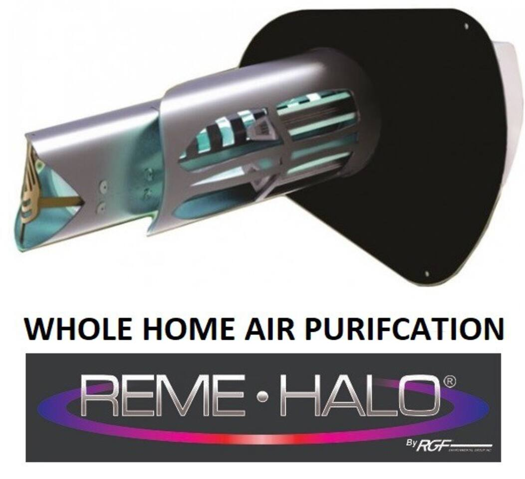 NEWLY installed in-duct home air purifier is the next generation of indoor air quality (IAQ) technology & capable of purifying every cubic inch of air in the home. Reduces air pollutants: Particulates, Microbial and Gases.