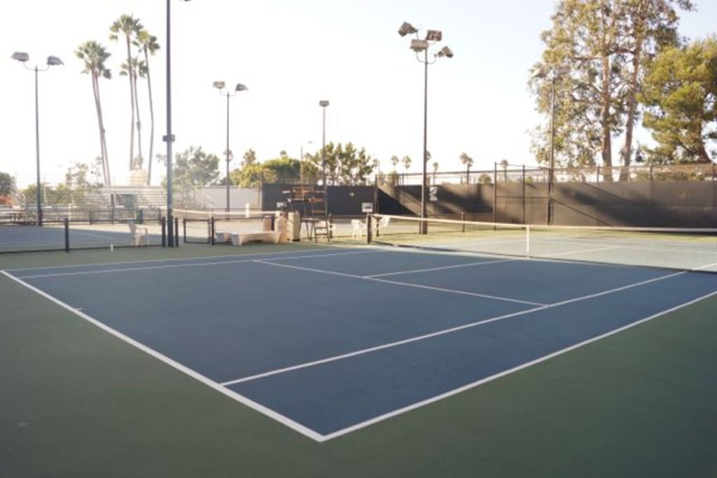 Bring your racquet for a game of tennis on one of the many courts