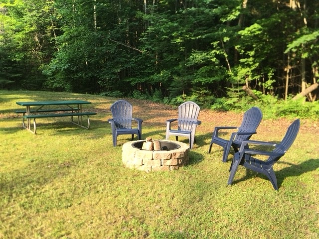 Firepit with Picnic Table