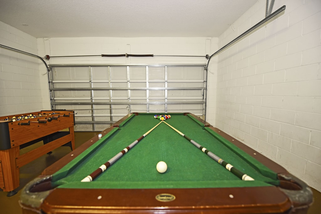 Games room  in the house