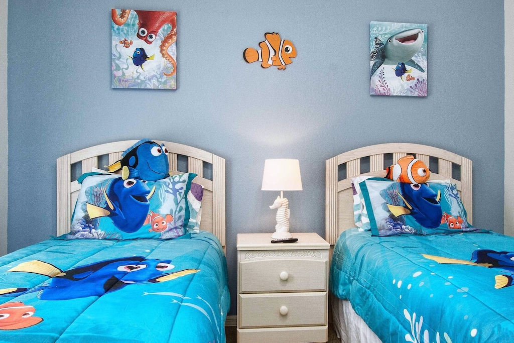 Fun bedding and decor that kids will love!