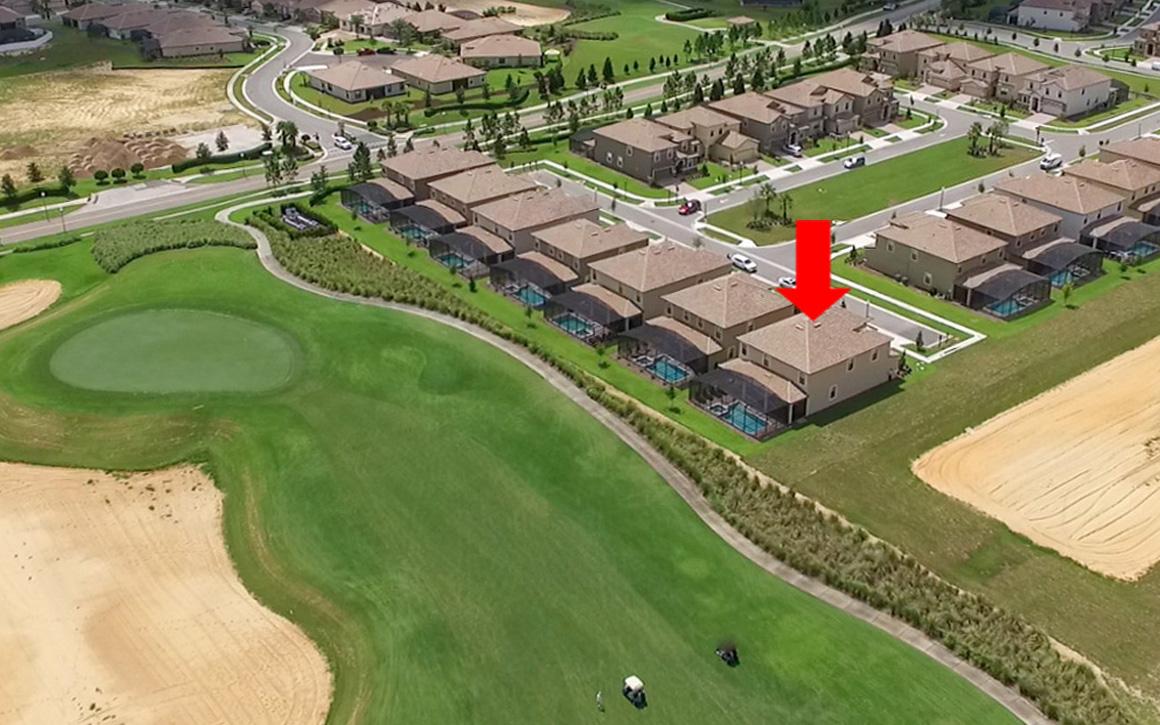 Incredible Golf Course View