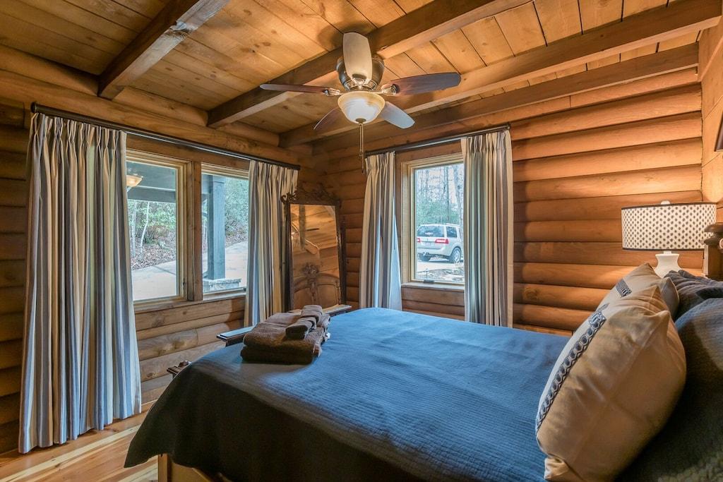 Downstairs Queen Bedroom