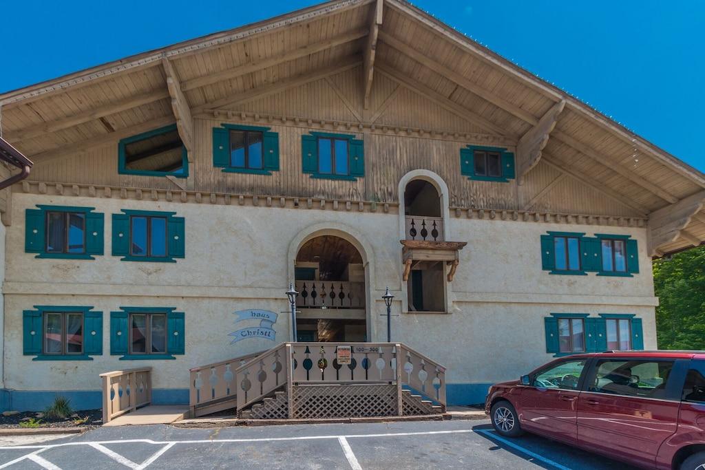 Front of Condo Building