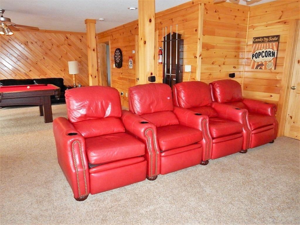 Lower family room