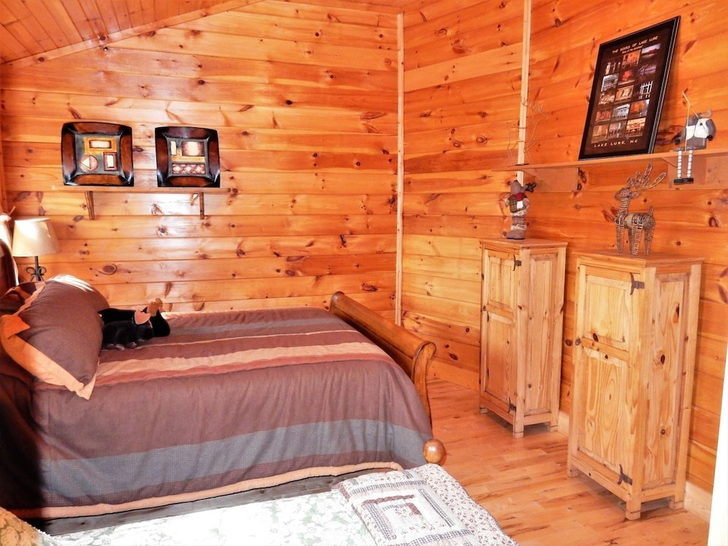 Another view of the second upstairs bedroom.