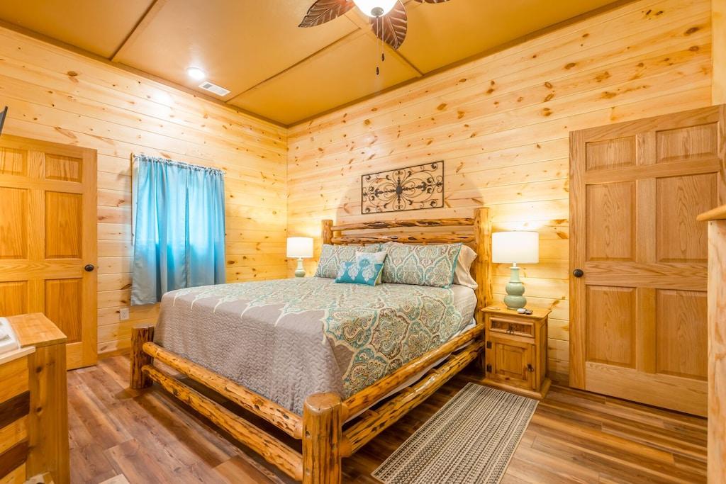 Custom Log Bed