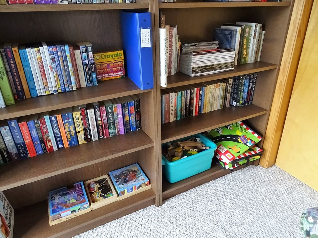 Books, games, puzzles, DVDs, toys...