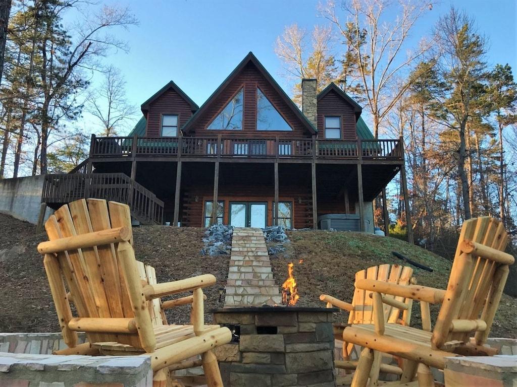 Picture perfect cabin