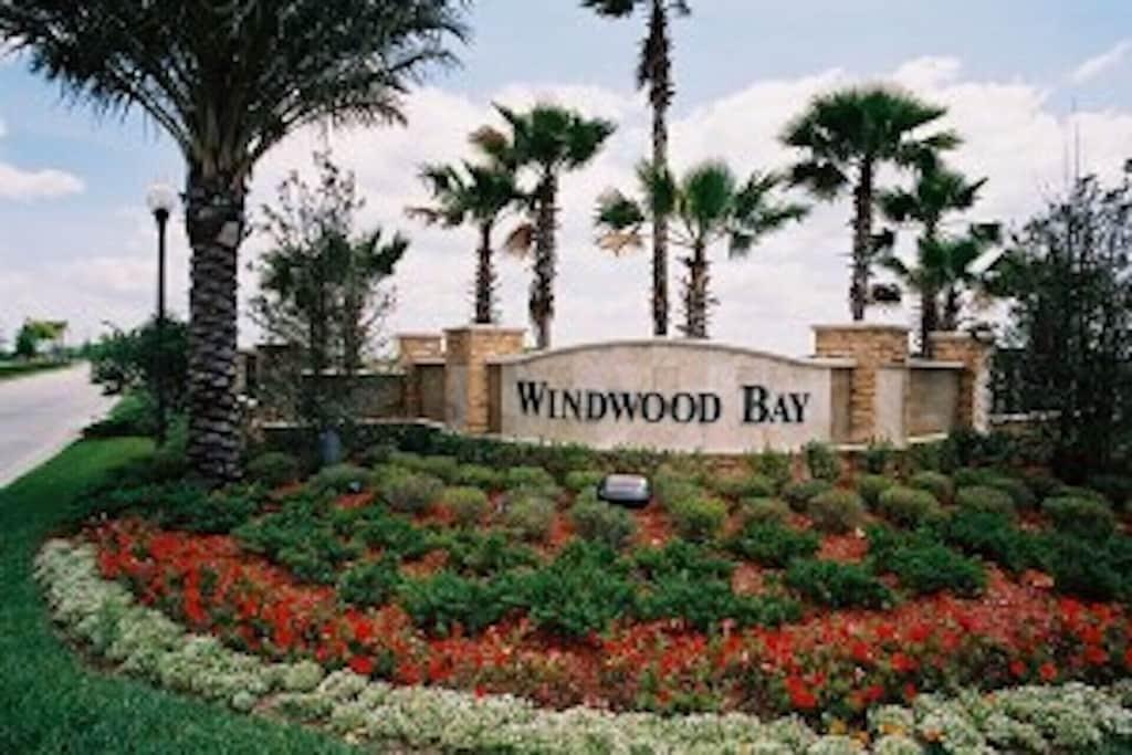 Windwood Bay community entrance