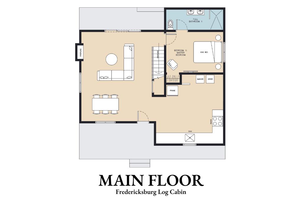 Main Floor - Floor Plan