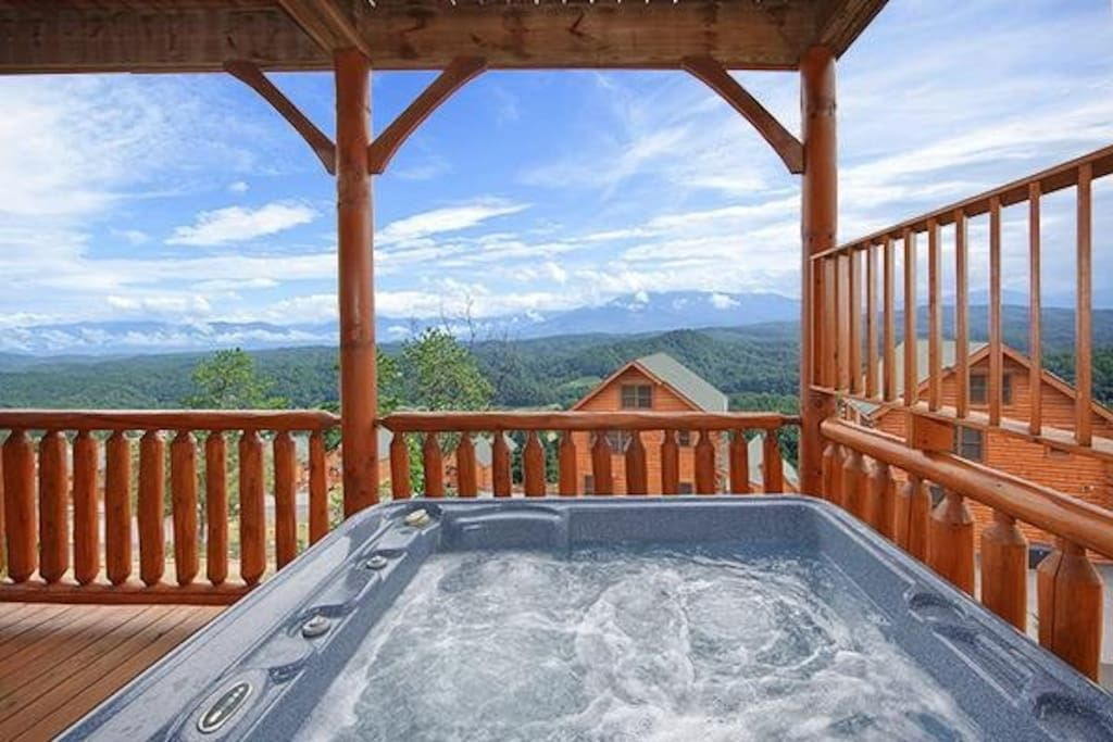 Hot tub view