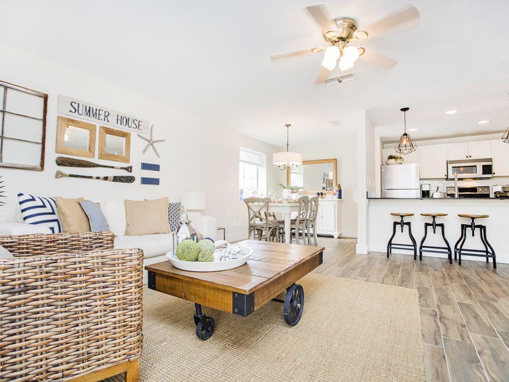 Ein offen gestaltetes Haus ermöglicht der Familie gemeinsame Zeit