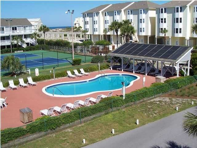 Tennis Courts and Second Pool at Barrier Dunes!