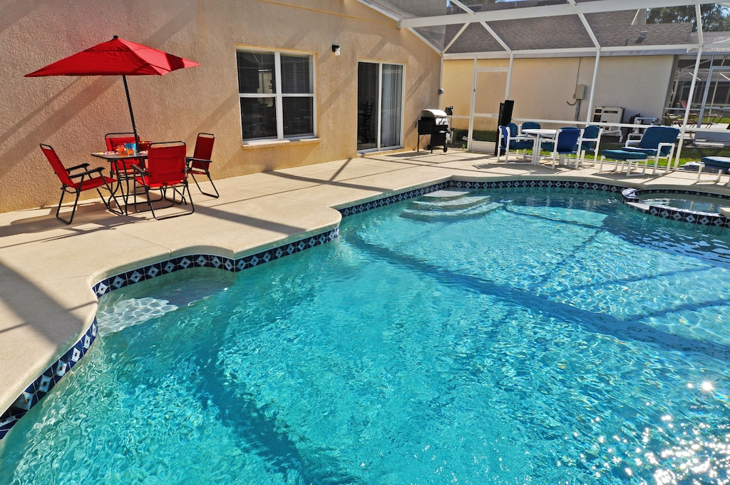 Private pool/Spa with heating option