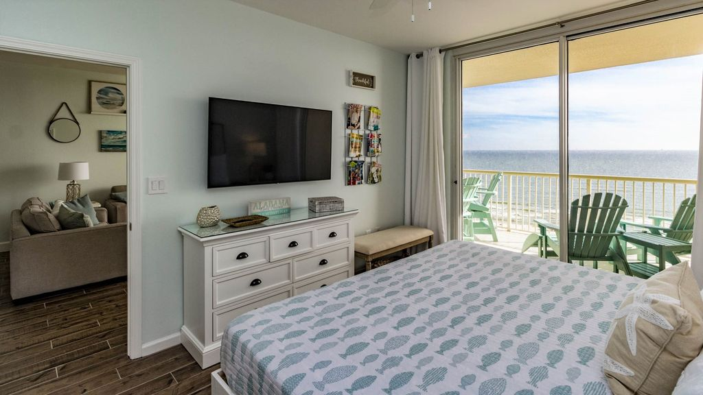 Master Suite with View of the Gulf