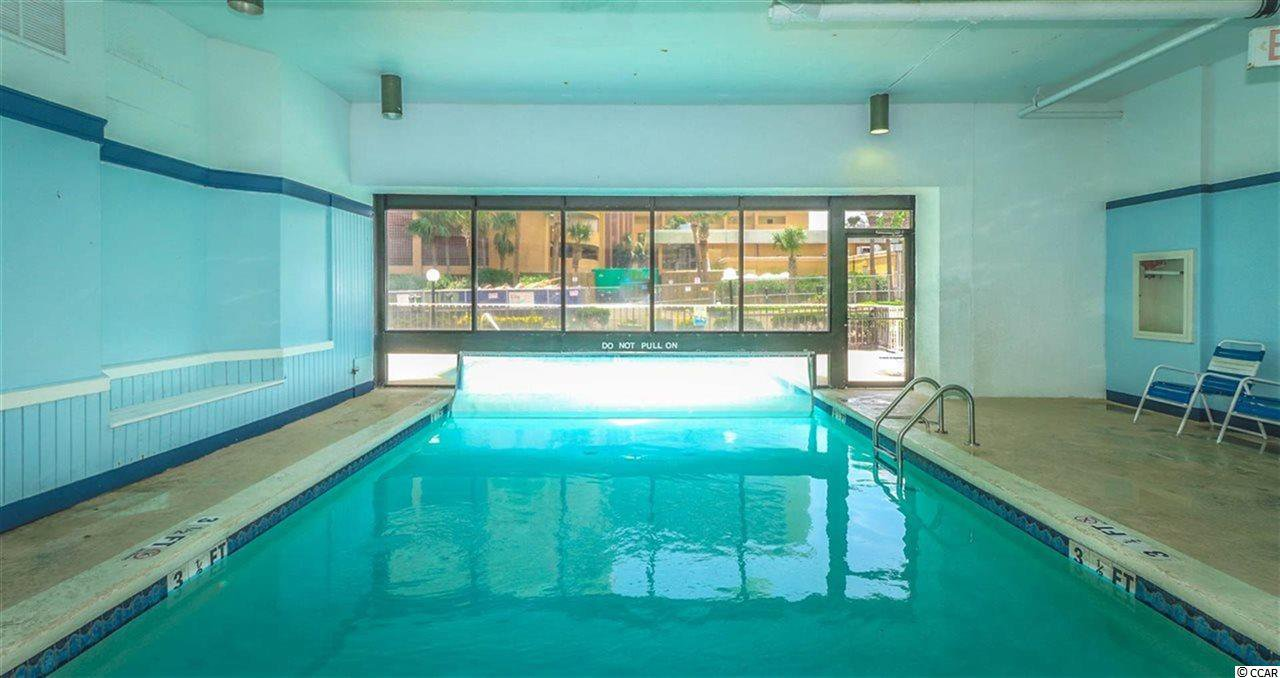 Indoor Outdoor Pool In This Building